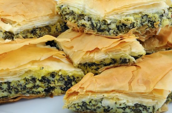 Greek Filo Pie