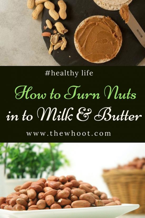 nut butter and nut milks