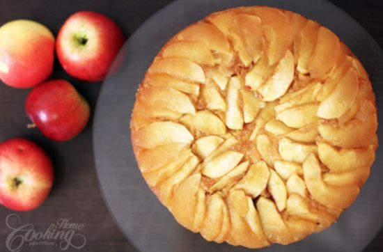apple pie upside down cake