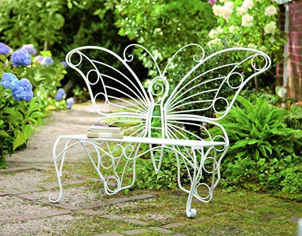 Phenomenal Butterfly Garden Bench Is Absolutely Stunning The Whoot Gmtry Best Dining Table And Chair Ideas Images Gmtryco