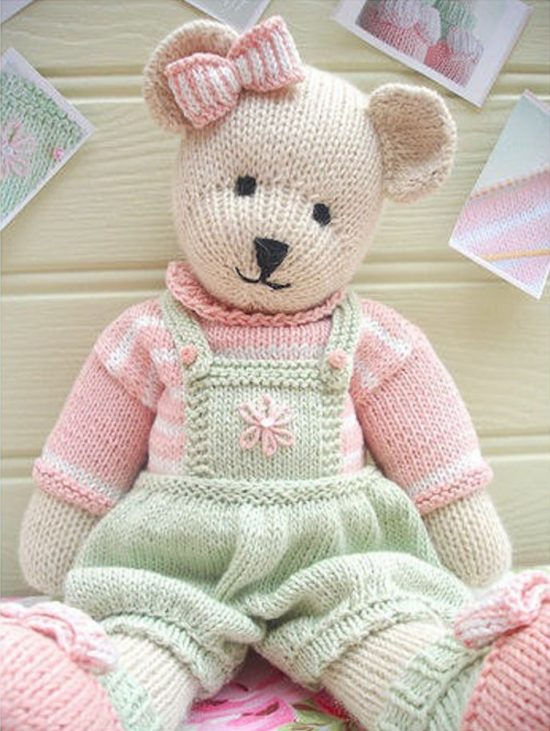 Knitted Teddy Bear Patterns To Melt Your Heart You'll Love To Make Stunning Teddy Bear Patterns