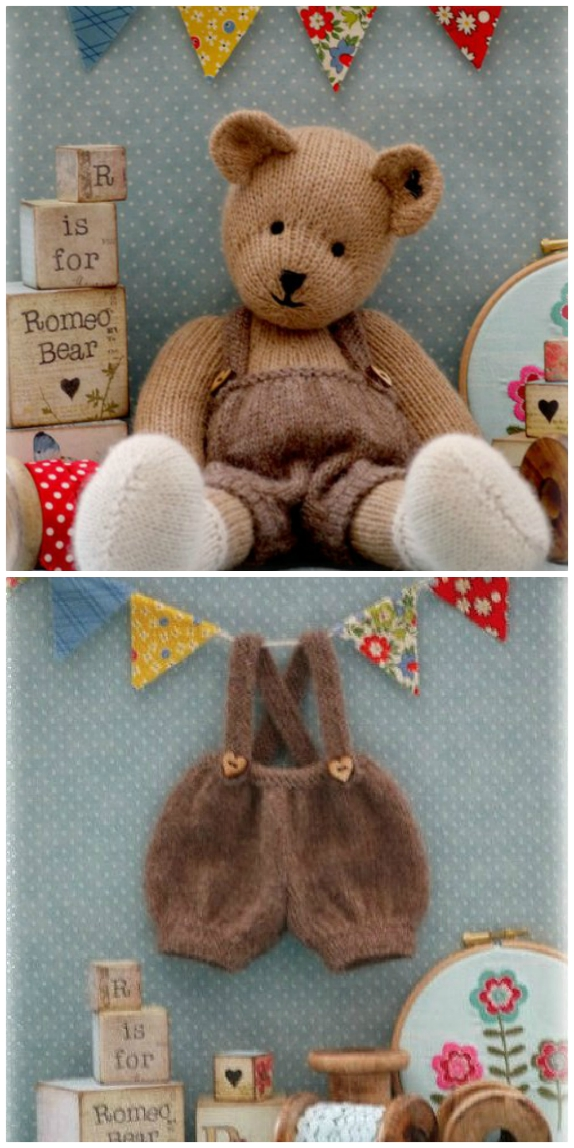 Knitted Teddy Bear Patterns To Melt Your Heart Youll Love To Make