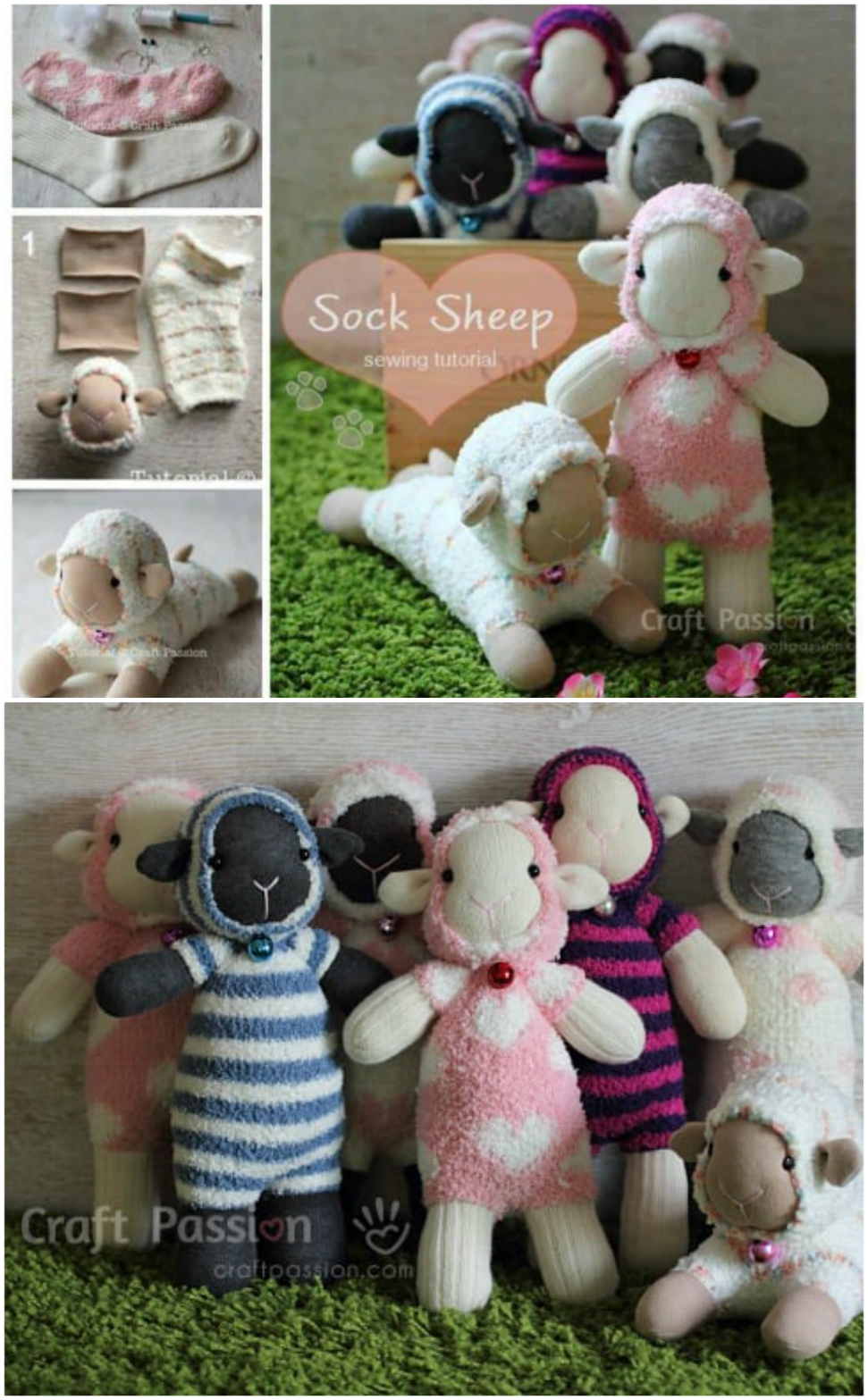 The Sweetest Collection Of Diy Sock Animals To Make The Whoot