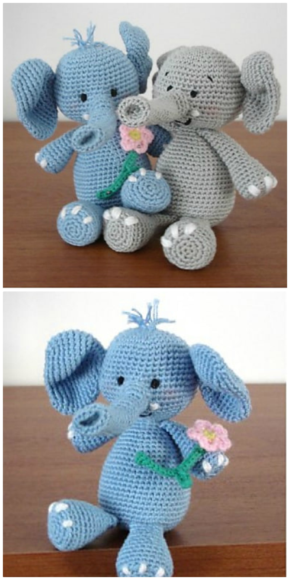crochet elephant amigurumi - YouTube | 2000x1000