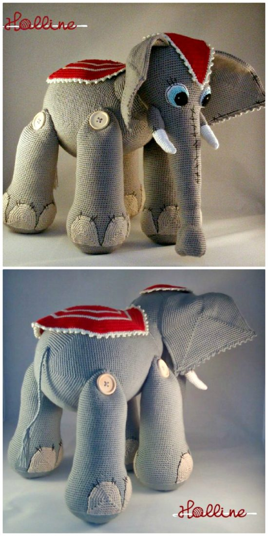 Our Most Favorite Elephant Crochet Pattern Roundup The Whoot