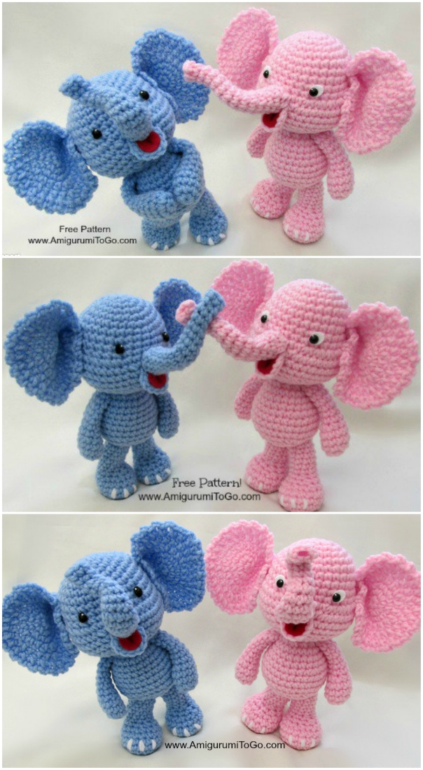 Crochet Elephant Pillow and Rug Pattern Review – Family Bugs Crochet Designs | 1099x604