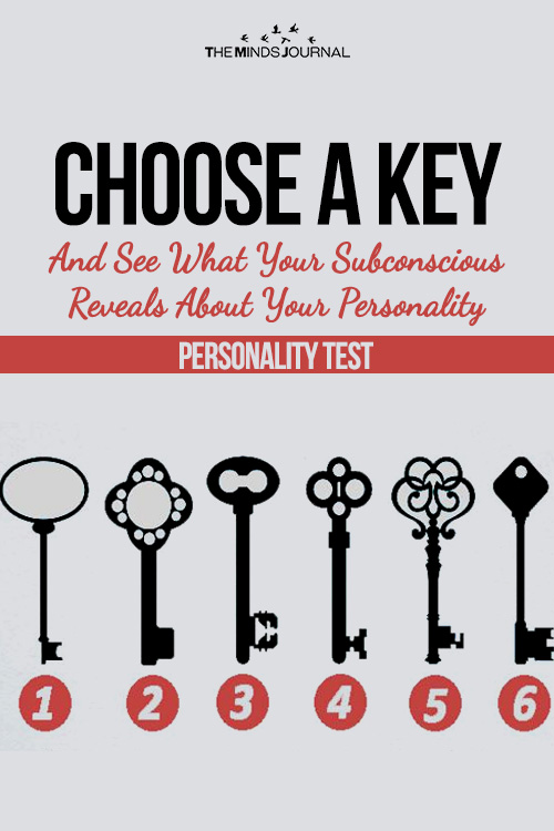 choose a key personality test