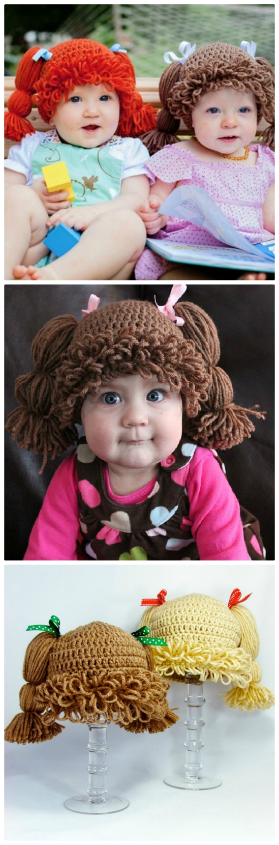 b1b555094 Cabbage Patch Doll Hat Crochet Pattern | The WHOot