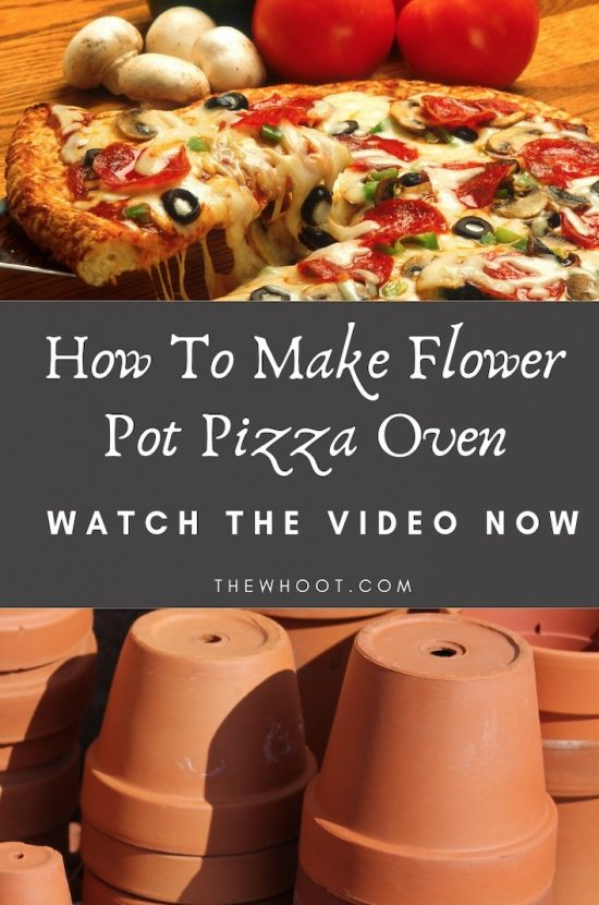 Flower Pot Pizza Oven Diy Easy Video Instructions