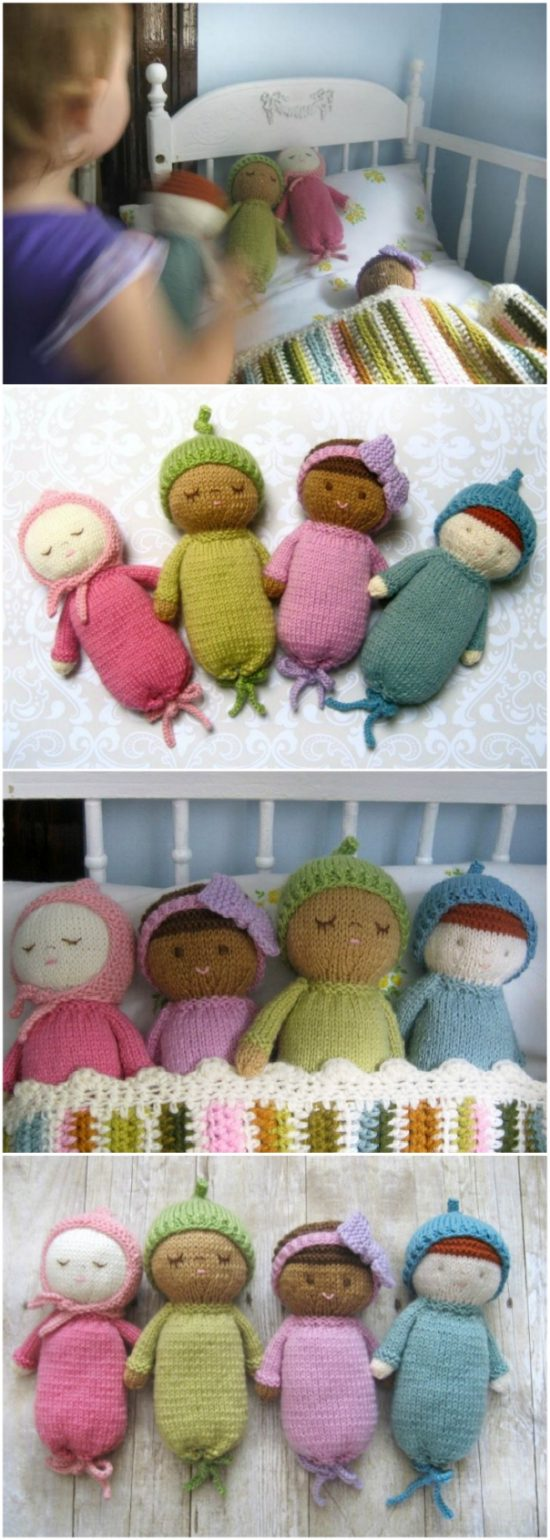 knit baby doll patterns by amy gaines