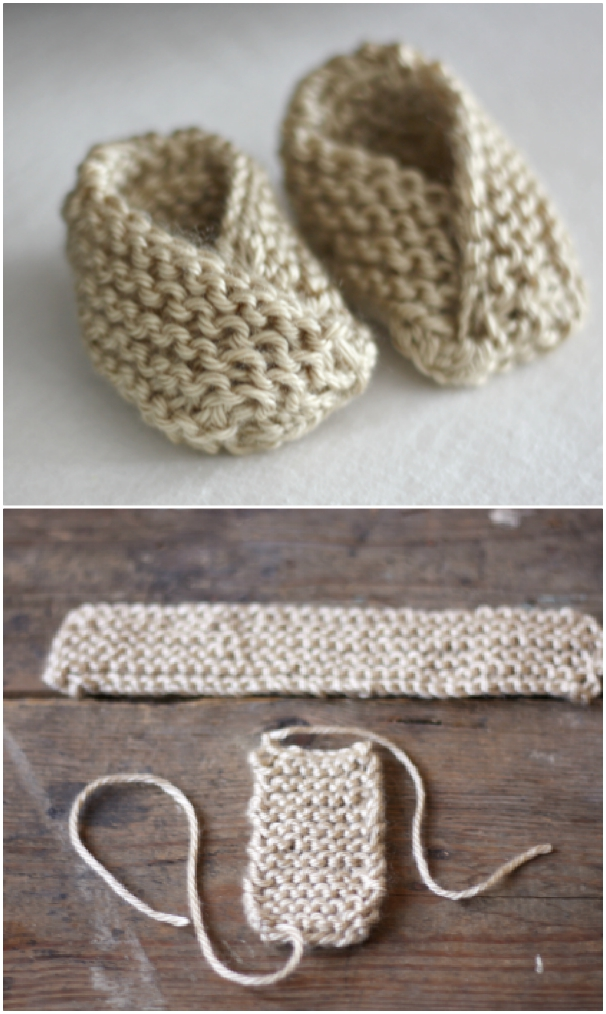 Patterns PRINTED KNITTING INSTRUCTIONS--BABY SHEEP SHOES ANIMAL BOOTIES KNITTING PATTERN