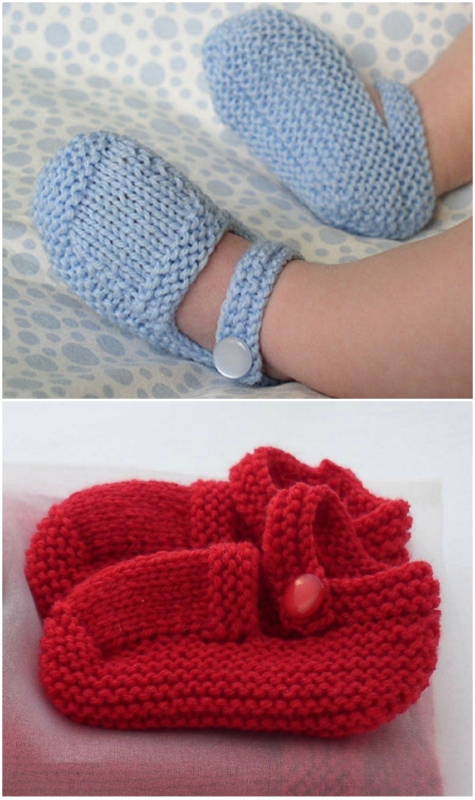 2e8290a1fee Knitted Baby Booties Free Patterns Cutest Ideas Ever