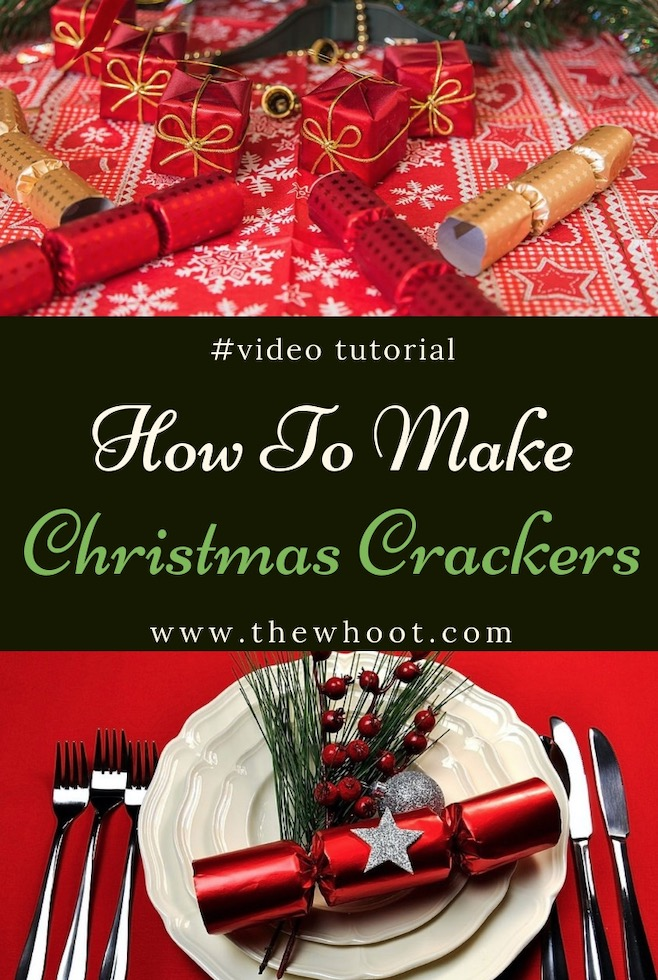 How To Make Christmas Crackers At Home That Pop Video The Whoot