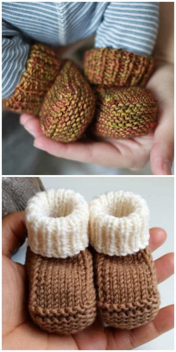 Knitted Baby Booties Free Patterns Cutest Ideas Ever