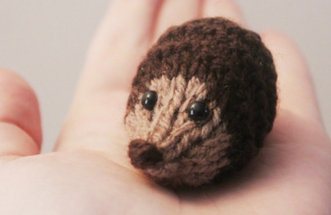 Knitted Hedgehogs Pattern Ideas Free Video Tutorial