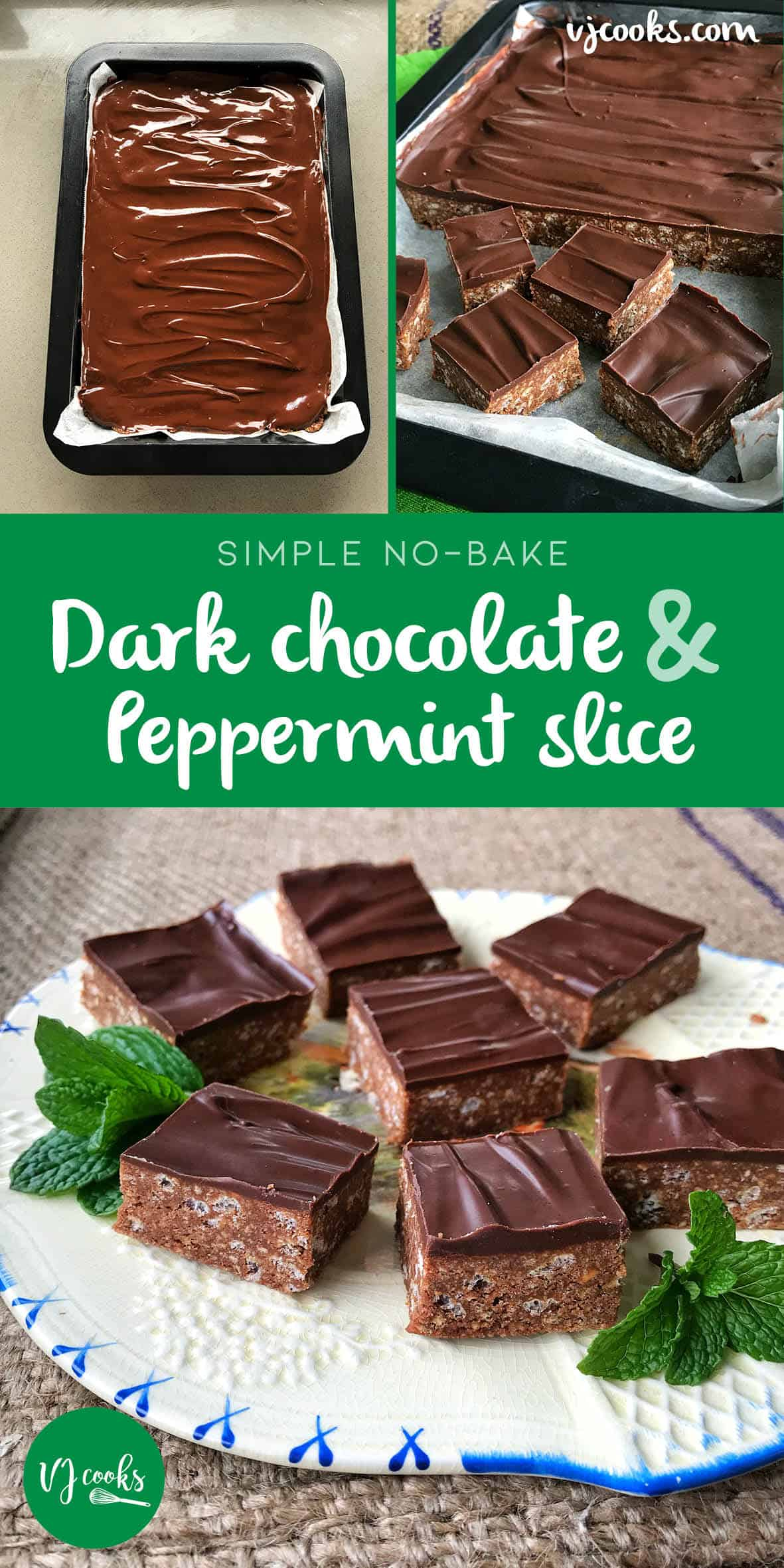 best chocolate peppermint slice recipe