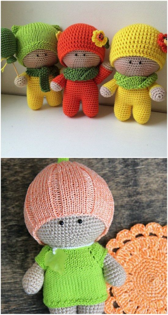 37+ Free Amigurumi Crochet Doll Pattern and Design ideas | Crochet ... | 1029x550