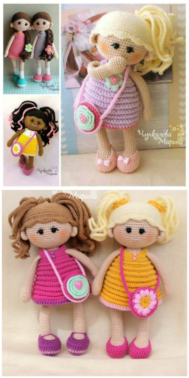 1000's of Free Amigurumi and Toy Crochet Patterns (535 free ... | 1268x634