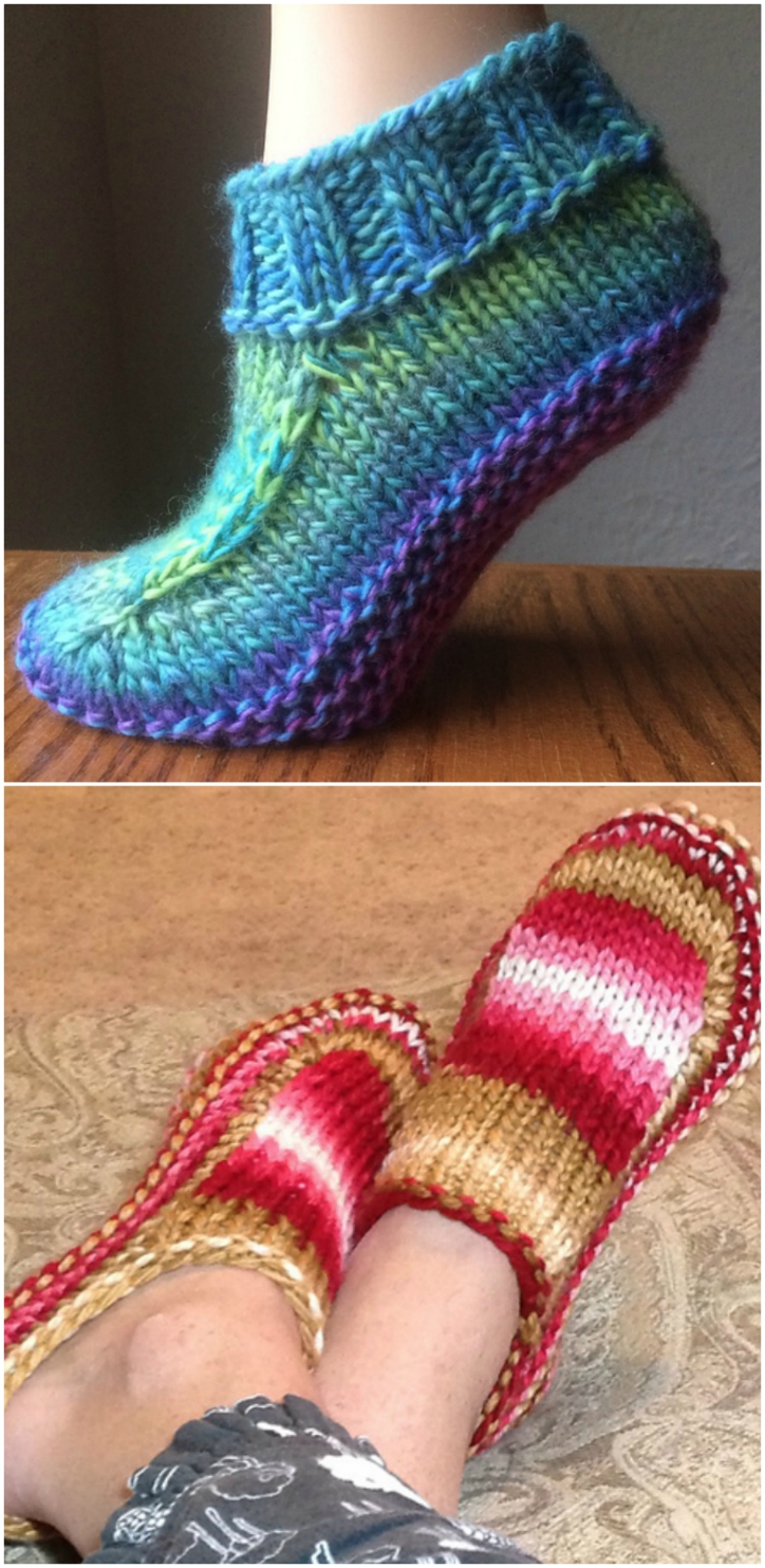 Ladies Knitted Slipper Boots Free Patterns You Ll Adore The Whoot