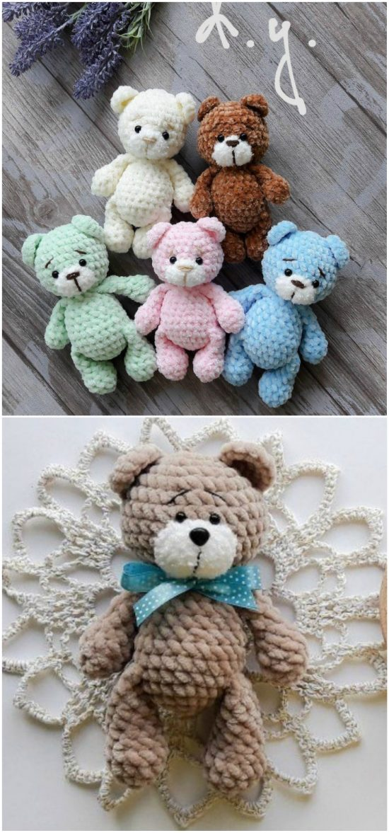 Baby Knitting Patterns Amigurumi Crochet Bear Sleeper Free Pattern ... | 1177x550