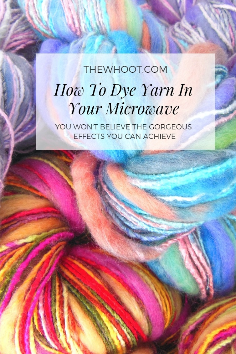 fff4c3fd9546 How To Dye Yarn In Microwave With Kool-Aid Or Food Colouring