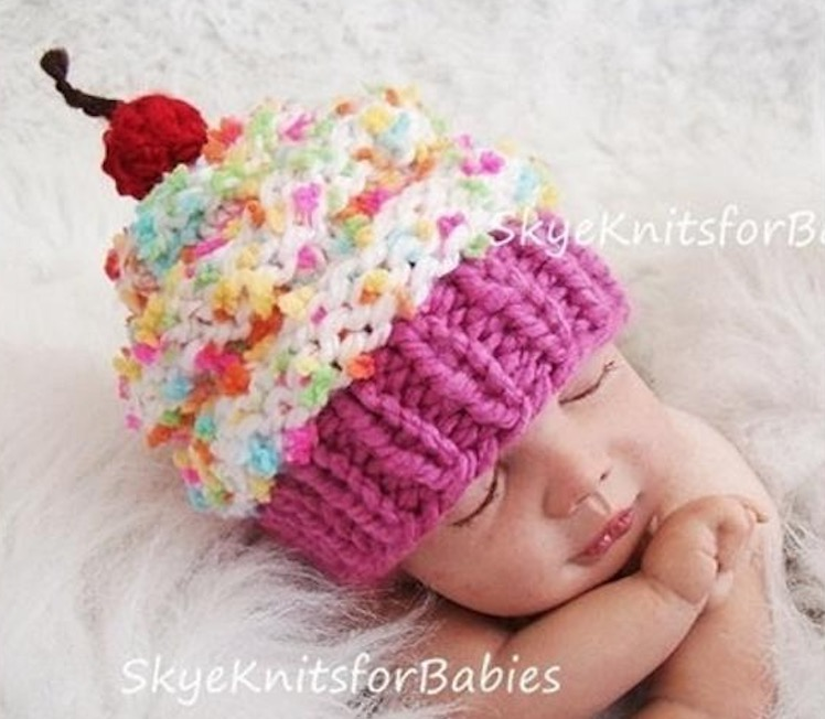 Cupcake Beanie Hat A Perfect Newborn Gift The Whoot