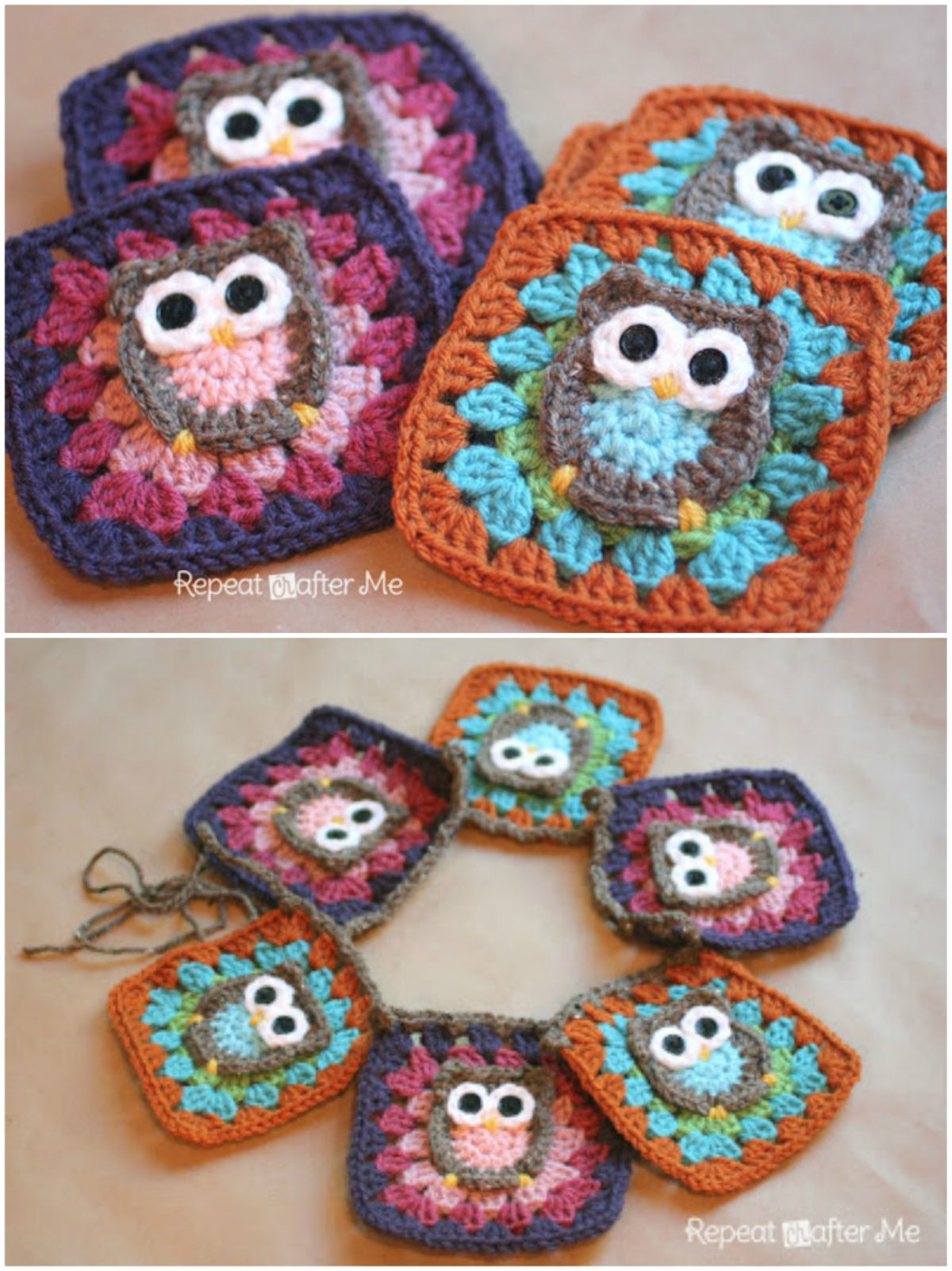Cute Collection Of Crochet Owl Projects