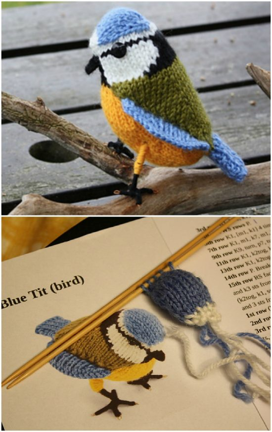 Knitted Birds Free Patterns You Will Love | The WHOot