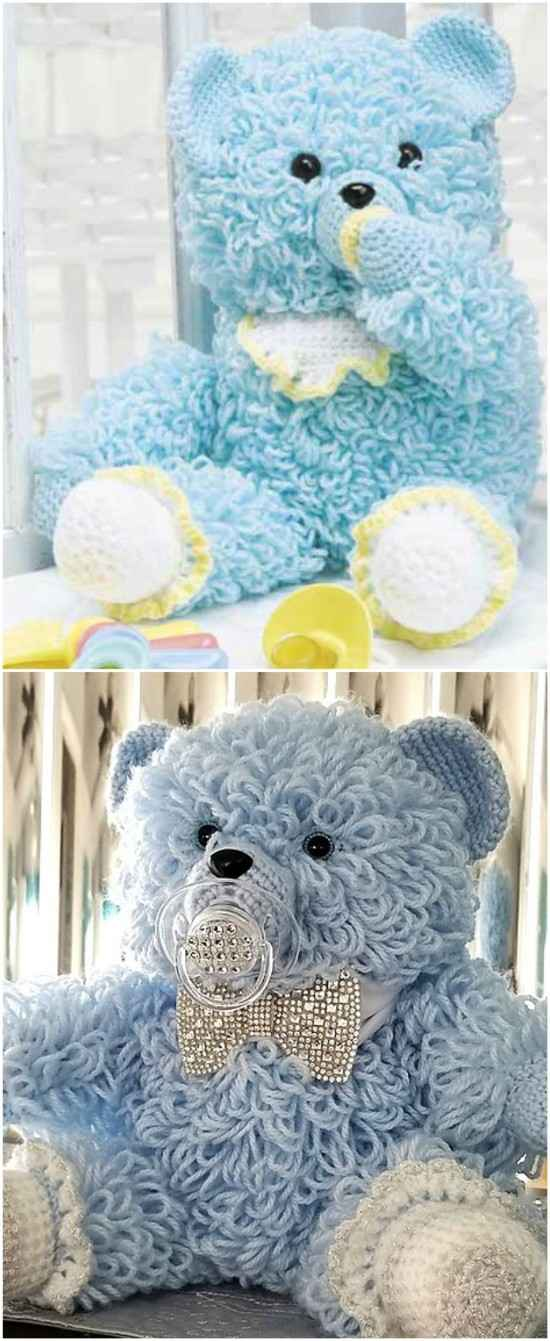 Free Crochet Teddy Bear Pattern | Crochet teddy bear, Teddy bear ... | 1341x550