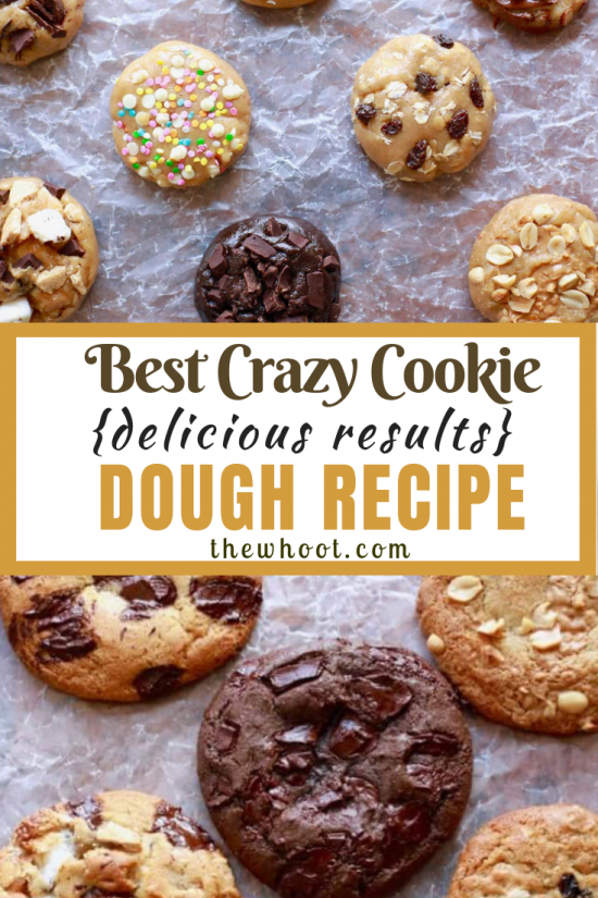 crazy cookie dough recipe