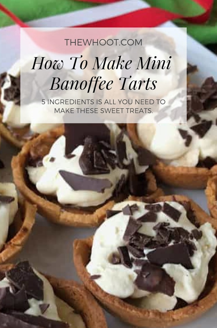 5 ingredient mini banoffee tarts