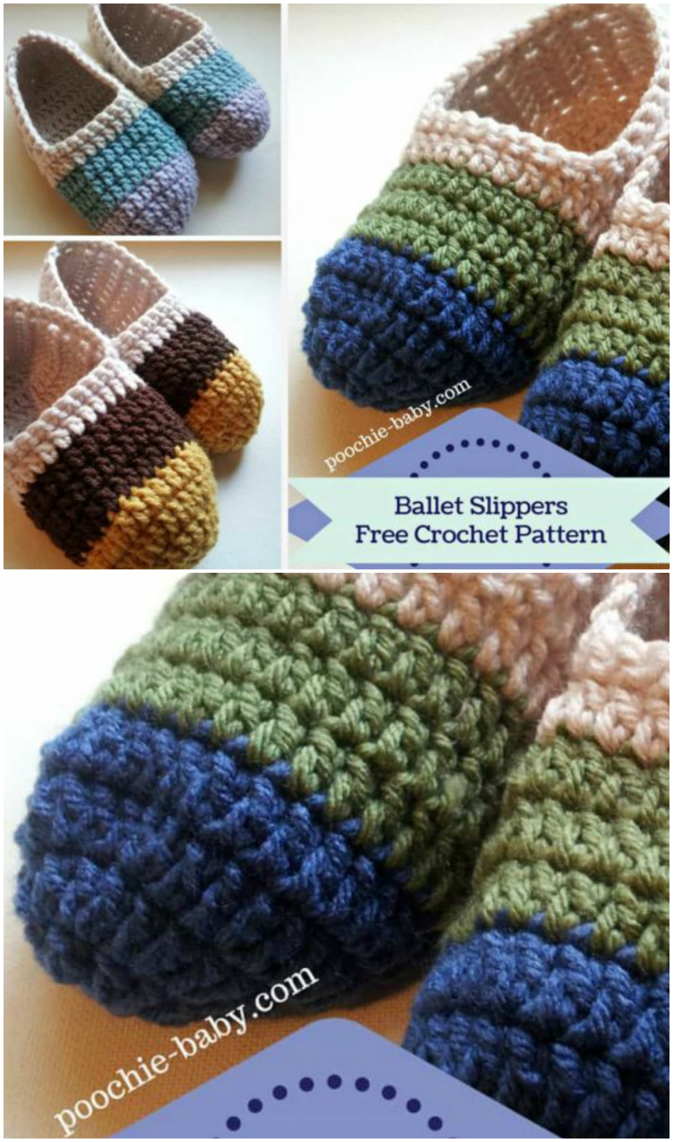 Favorite Crochet Slippers Pattern Ideas The Whoot