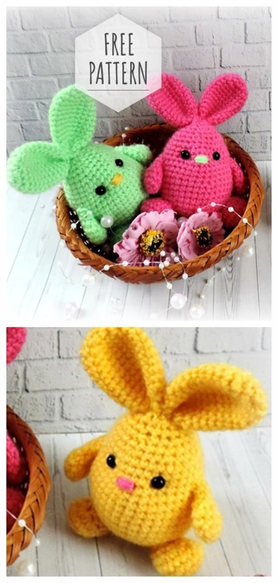 Easter Eggs: Free Crochet Patterns! | Easter crochet patterns free ... | 1182x564