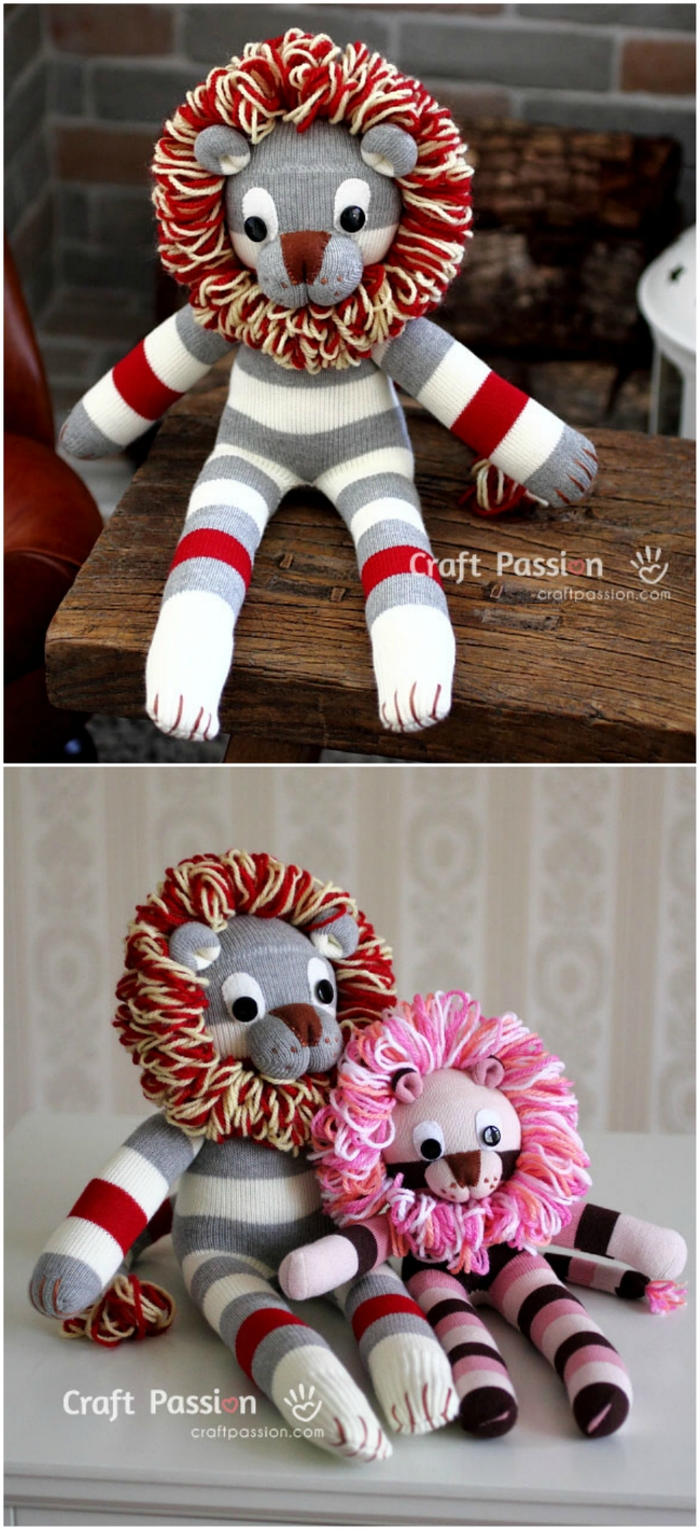 3e65c66bea The Sweetest Collection Of DIY Sock Animals To Make