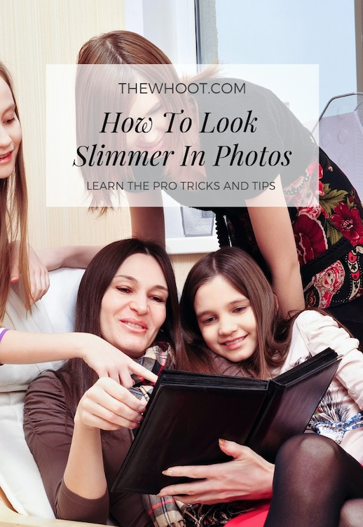 look slim in photos