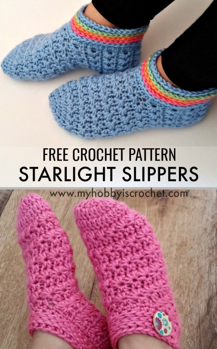 4166708572f19 Our Most Favorite Crochet Slippers Pattern Ideas | The WHOot