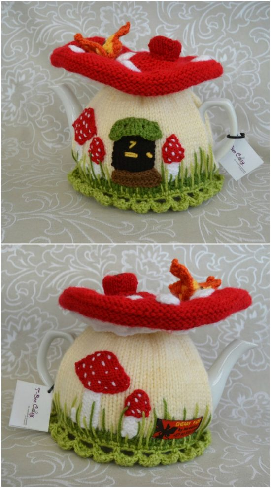knitted tea cozy pattern