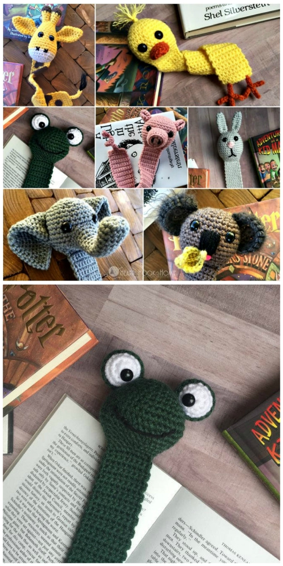 Mouse Bookmark Free Crochet Pattern | 1112x557