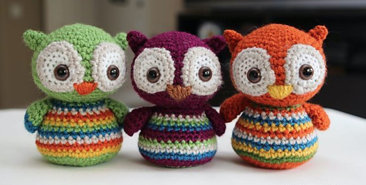 Crochet Baby Owls Pattern Video Lots Of Cute Ideas | 634x1254