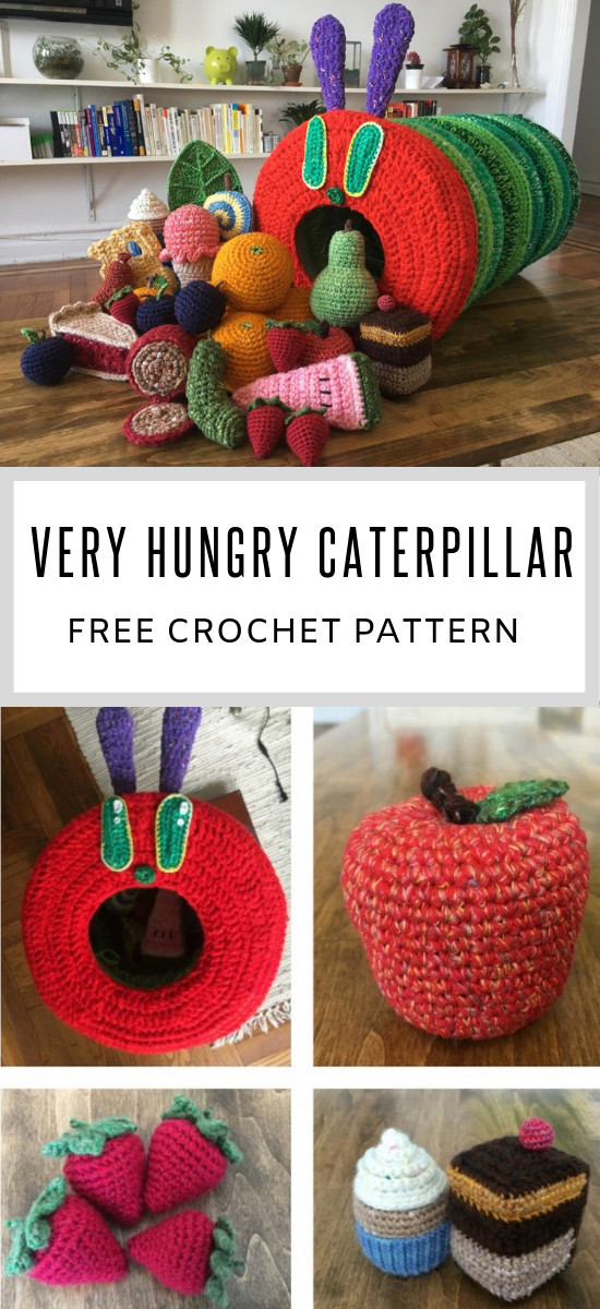 84714cbc8 Hungry Caterpillar Crochet Pattern Ideas You'll Love