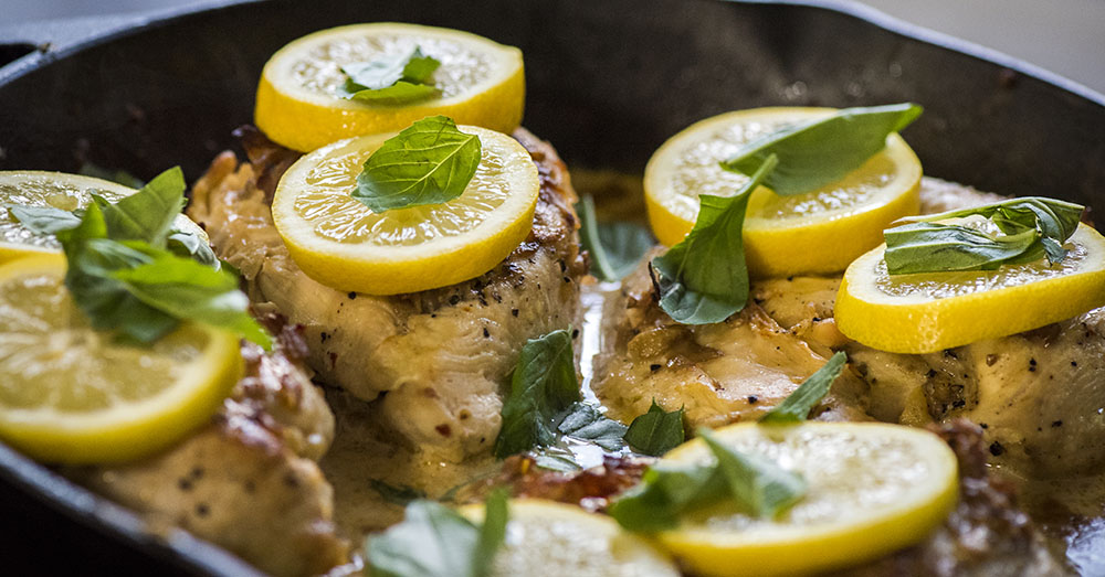 creamy garlic lemon chicken breasts