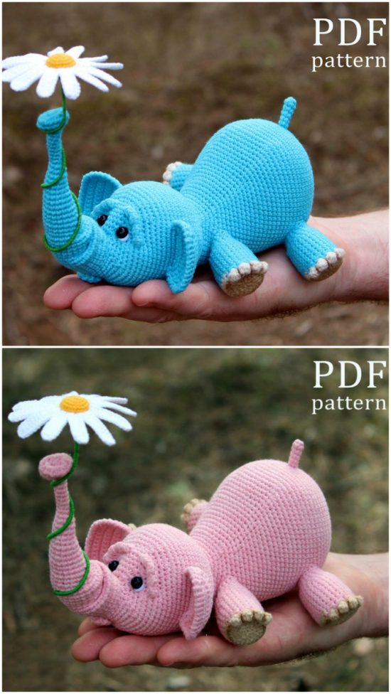 The Sweetest Crochet Elephant Patterns To Try | The WHOot