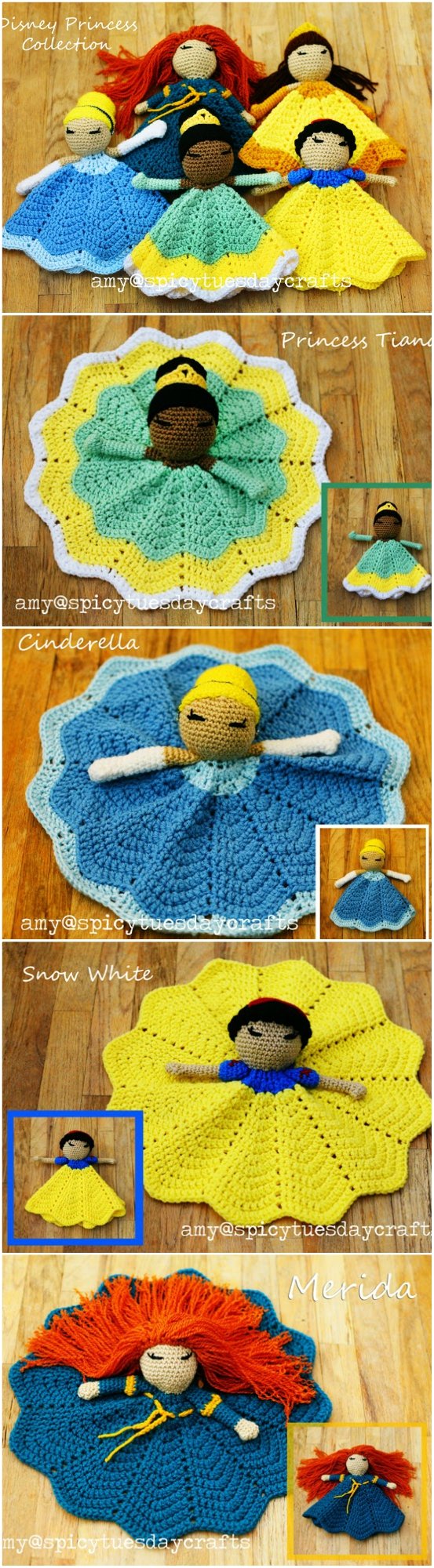 Crochet Kits: FROZEN and Princesses Amigurumi Patterns | Frozen ... | 2000x553