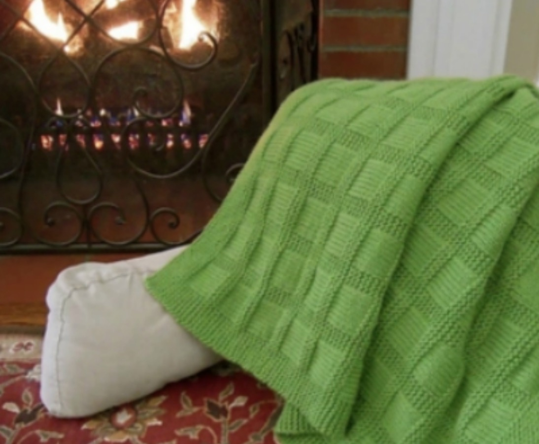 Sunny Baby Blanket Free Knitting Pattern The Whoot