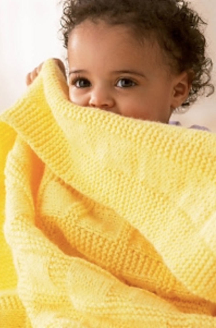 Sunny Baby Blanket Free Knitting Pattern | The WHOot