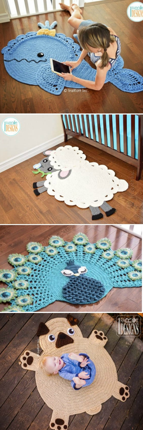 Crochet Animal Rugs Beautiful Patterns | The WHOot | 1500x500