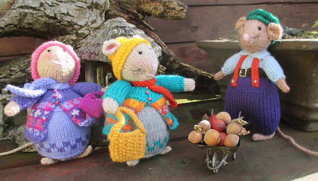 Knitted Mouse Free Pattern Video Tutorial Lots Of Ideas