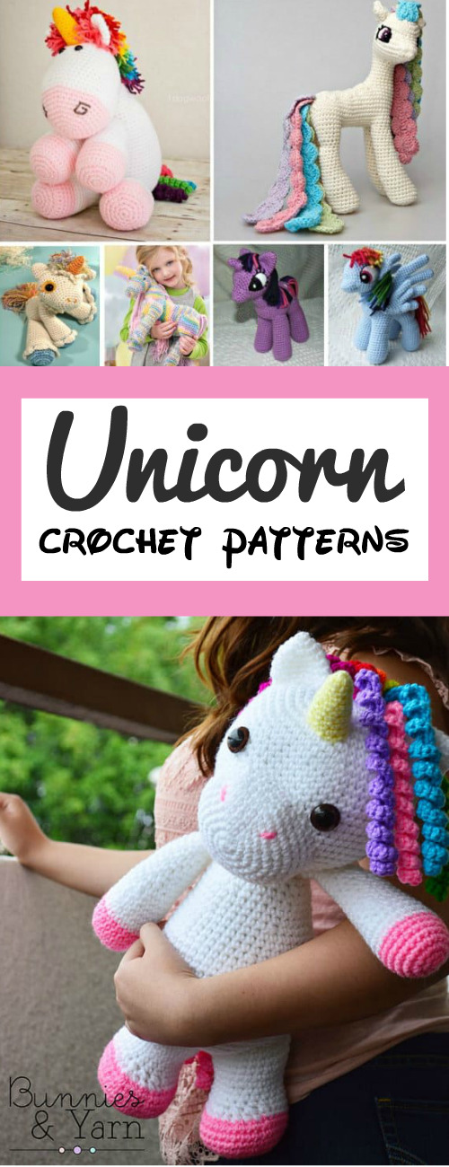 Free Unicorn Crochet Patterns - The Best Collection Ever ... | 1300x500