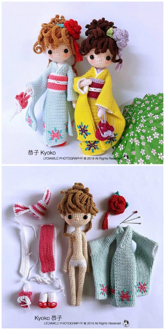 15+ Free Crocheted Doll Patterns • Free Crochet Tutorials | 1098x550