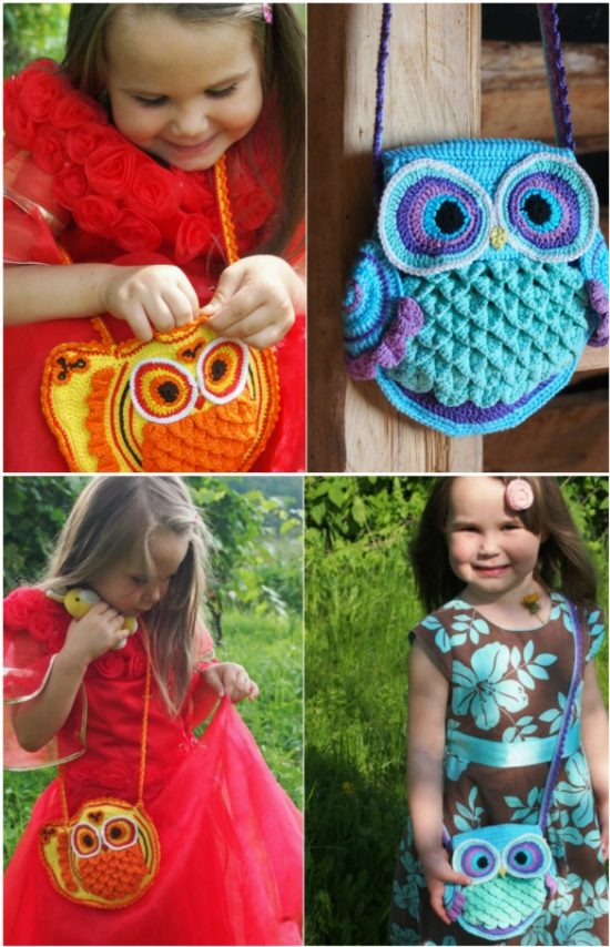 Awesome Crochet Owl Pattern Bags Super Cute Collection Dailytribune Chair Design For Home Dailytribuneorg